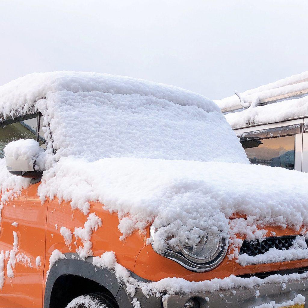 積雪の写真